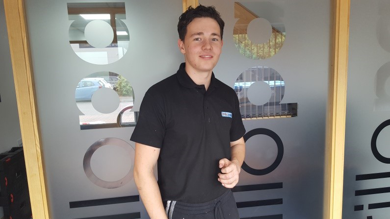 Profile of Brillopak Apprentice Michael Cooper