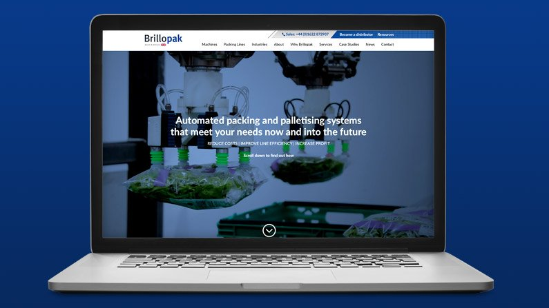 New website Brillopak