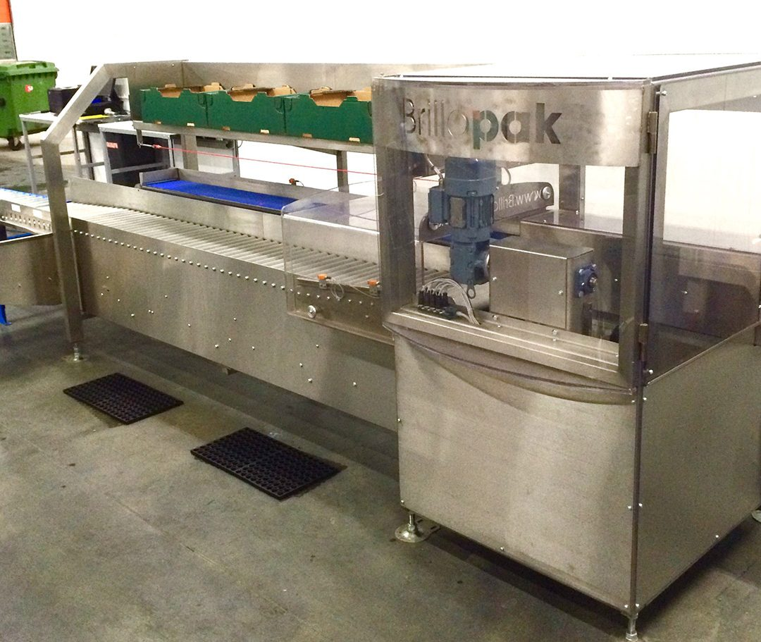 Another Semi-automatic packstation leaves the Brillopak factory