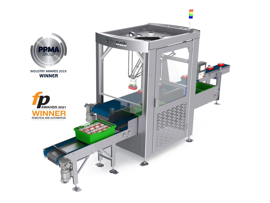 brillopak unipaker automated packing machine